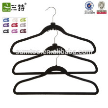 High-End Quality Manufacturer Flocking Pant Hanger