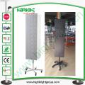 Cremalheira de exposição do girador do fio de metal para artigos de suspensão