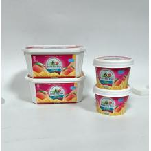 cylinder ice cream cup for IML printing