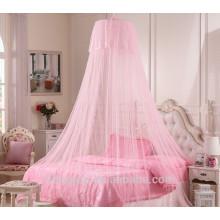 Rede de mosquiteiro dobrável portátil de tamanho King para cama de casal