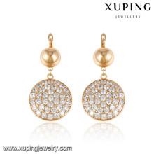 92589 xuping dames bijoux plaqué or boucles d'oreilles