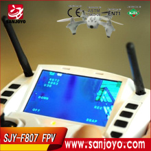 2015 New RC Drones F807 VS H107D Quadcoter LCD Screen 4CH 2.4G Gyro FPV Helicopter UFO Headless with HD/FPV camera