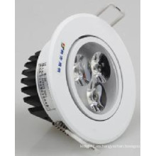 3/5/7/9/12/15 / 18W LED COB Downlight LED Luz de techo