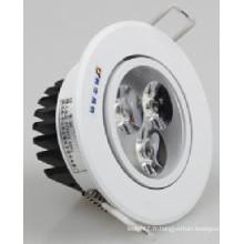 Plafonnier de 3/5/7/9/12/15 / 18W LED COB Downlight LED