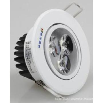 3/5/7/9/12/15 / 18W LED COB Downlight LED Luz de techo