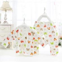 Baumwolle bedruckt Baby Anzug für Neugeborene Jungen und Mädchen