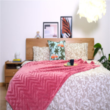 Home Textiles Indoor Bedding Basics Knitted Coral Blankets