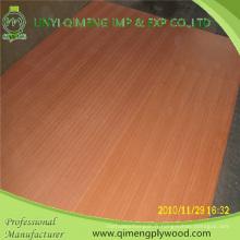 Le contreplaqué fantaisie de Sapele de catégorie mélangée de 1.8-3.6mm d'exportation de qualité professionnelle de Linyi
