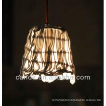 Lampe de plafond en cristal moderne