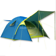 Outdoors One-Bedroom Blue Tent, Double Layer 4 Season Tent
