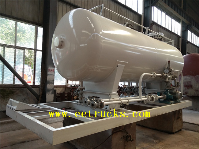 10 CBM Skid Mounted LPG Tanks