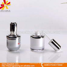 Oval shape acrylic fancy 30ml dropper bottle