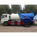 Dongfeng 5CBM Vacuum Cleaner Sewage Tank Truck