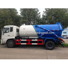 Dongfeng Tianjin 10CBM Sewage Treatment Tanks Truck