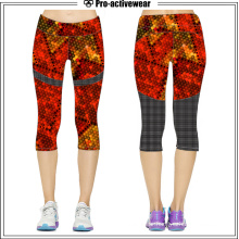 Fashionable Quick Dry Yoga Hot Sale Capri Pants