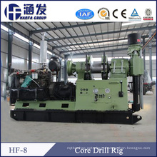 Hf-8 Full Hydraulic Strong Rotating Core Drilling Rig