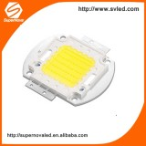 Factory direct cool white 6000lumen 50w cob Epistar led chip used for street light &flood light &high bay light