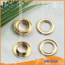 Inner 11.7MM Brass Eyelets for Garment/Bag/Shoes/Curtain BM1532