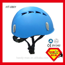 With UIAA CE EN12492 Certification PP Rock Climbing Protection Helmet