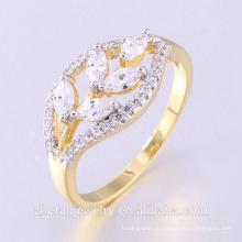 Ювелирные 2018 3А CZ кубический циркон 925 чистое серебро женское свадьба палец кольца с двойным покрытием Родием ювелирные изделия-это ваш хороший выбор