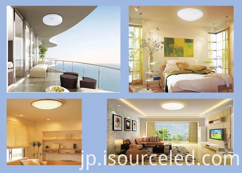 led ceiling flush mount light fixture for Indoor Lighting