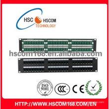 Panel de conexiones UTP Cat5e 48port