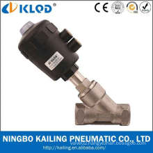 2/2 way stainless steel body angle check valve KLJZF-20