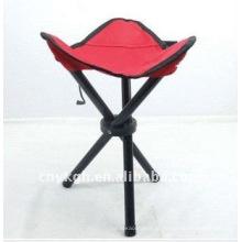 três pernas cadeira dobrável para a vida de pesca