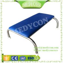 PU cover hospital steep stool metal foot stool
