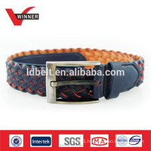 Men Braided Plaited Casual Belts
