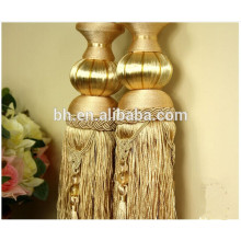 Exquisite Rope Hanging Beads Tassel For Curtain Fasten / Tieback