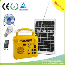 Shenzhen JCN New Energy Technology 10W Home Solar Power System with FM for Sale