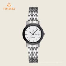Мода из нержавеющей стали горячая распродажа часы для дамы 71133