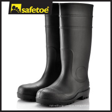PVC Transparent Rain Boots Manufacturer, Safety Rain Boots W-6037