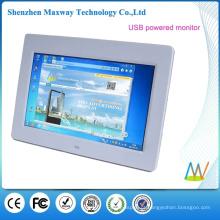 Monitor LCD de 10,1 polegadas, alimentado por USB, sua tela de extensão
