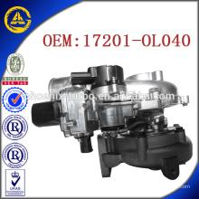 CT16V 17201-OL040 turbo pour Toyota KZN130