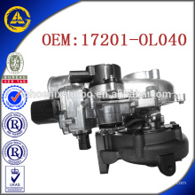 CT16V 17201-OL040 turbo for Toyota KZN130