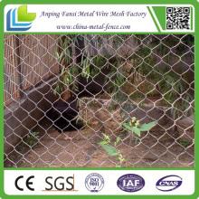 Niedrige Kosten Verzinkte Kettenverbindung Zaun Installation