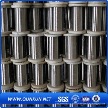 (0,025 à 5 mm) Fil en acier inoxydable 316L