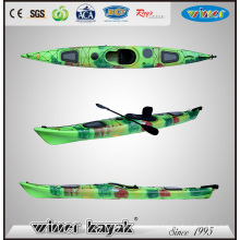 New Arrival Single Sit in Sea Kayak with Adjustable Pedals