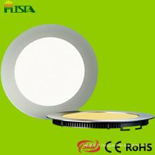 Dernière conception ronde panneau LED Dimmable Troffers (ST-PLMB-TR-12W)
