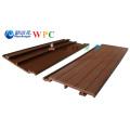 Revestimento decorativo composto plástico de madeira do painel de parede WPC de 168 * de 20mm