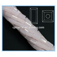 Granos rectangulares perlas de cristal de alta calidad
