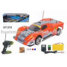 R / c coche de juguete con rueda de paleta H71374