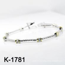 Nueva pulsera de plata de la joyería de la manera de los estilos 925 (K-1781. JPG)