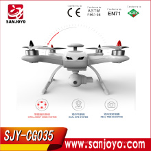 Follow Me RC Drone GPS CG035 2.4G Brushless Motor Altitude Hold Headless Mode UFO Drone Quadcopter With Double GPS SJY-CG035