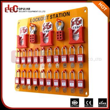 Elecpopular Dispositivos de segurança de venda quente Material de vidro orgânico Estação de bloqueio de cadeados 20