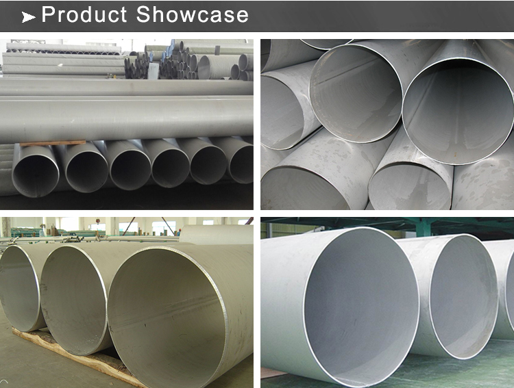 ss welded pipe showcase