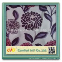 Flocage de tissu pour canapé