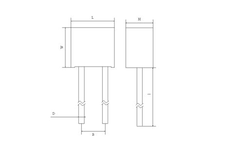 radial lead fuse